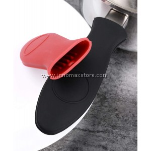 Heat Resistant Silicone Handle Holder Sleeve For Cast Iron Skillet Aluminum Pan Pot