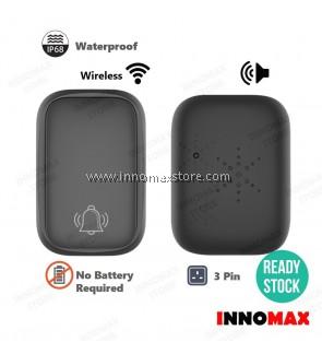 Wireless Door Bell Self Powered IP68 Waterproof 38 Ringtones
